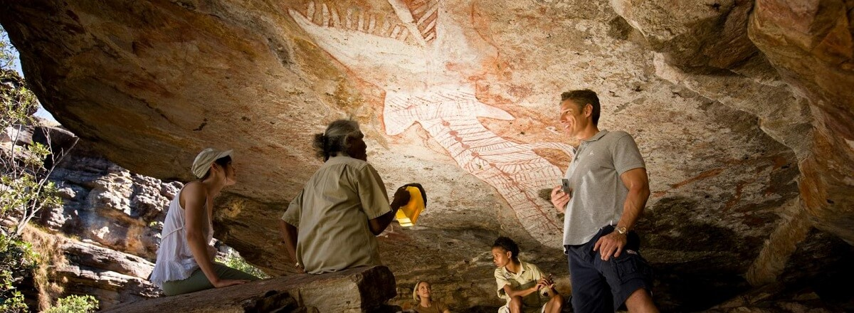 Exploring Aboriginal Rock Art at Kakadu