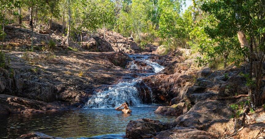 Kakadu and Litchfield tour Buley Rockhole Pool