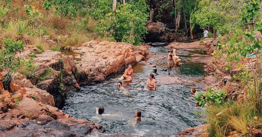 Kakadu and Litchfield Tour - Buley Rock Holes
