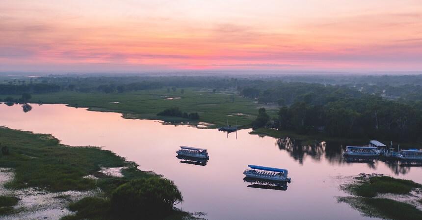 5 Day Kakadu Tour - Yellow Water Sunset (1)