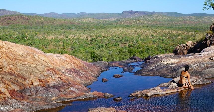 Gunlom Falls, Kakadu 3 day camping tour